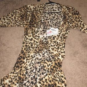Unicorn Lularoe Leopard Shirley Small